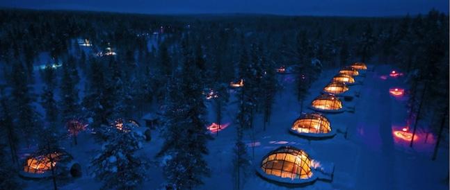 Hotel Kakslauttanen / Saariselkä / Finnland